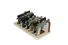 Creighton 7-Slot 05 Almond Brown Sem-Auto Gun Rack for Safes, Display & Storage