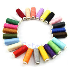 24pcs Mix Color Cotton Spools All Purpose Polyester Sewing And Quilting Threads