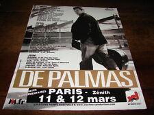 GERALD DE PALMAS - PUBLICITE DATES CONCERT !!!!!!!!!