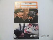 CARTE FICHE CINEMA 1964 ALLEZ FRANCE Robert Dhery Colette Brosset Diana Dors