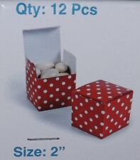 """2"""" Gift Boxes, Birthday Favor, Wedding, Candy Buffet, Christmas, Valentines Day"""