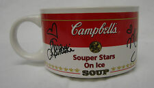 Campbells Soup Can Souper Stars Ice Skaters Cup Mug Signed Collectible