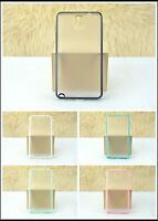 2-Pack Color Frame TPU Bumper Translucent Case Samsung Galaxy Note III 3 N9000