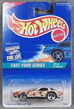 HOT WHEELS ~ FAST FOOD SERIES ~ PIZZA VETTE ~ 1980 CORVETTE ~ 1//64