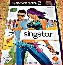 PS2 SINGSTAR ORGINAL (DAS ERSTE SINGSTAR) *MIT 30 KARAOKE HITS ZUM MITSINGEN*