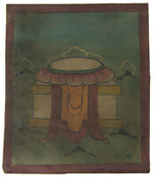 Tsakli Robe Da Monaco Quadro Iniziatico Lama Tibetano Mongolia Tibet 6667