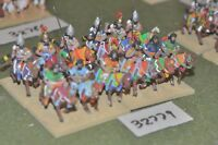 25mm biblical / assyrian - heavy 12 figures - cav (32779)