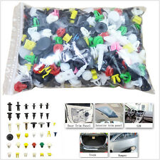 500Pcs Mixed Car Door Trim Panel Clip Fasteners Bumper Rivet Retainer Push Pins