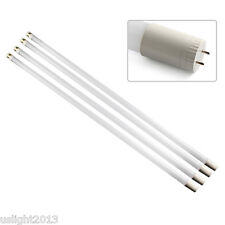 "4-pack 18W T8 LED Light Tube 4ft 48"" 6500K Daylight T8 SMD LED Tube Bulbs 110V"