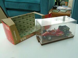 Brumm r142 Boxed Cased Diecast Model Car 27 Ferrari 126 C4 Alboreto F1 1984 1/43