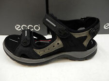 ECCO WOMENS SANDALS YUCATAN BLACK SIZE EU 36