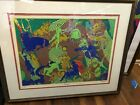 """SIGNED, LIMITED EDITION SERIGRAPH BY LEO RUSSELL--""""THE ZODIAC""""----------------kz"""