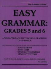 Easy Grammar: Grades 5 & 6 by
