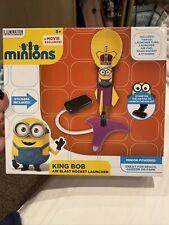 Brand New Minions King Bob Rocket Launcher