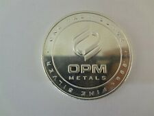 OPM Metals 1 Troy Oz. .999 Fine Silver Bullion Round Made In The USA