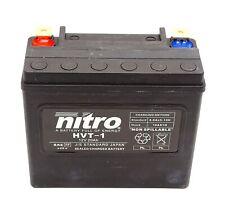 Nitro HVT 01 AGM Gel Batterie 12V 20AH 310A Motorrad Harley (YTX20HL-BS, 65989)