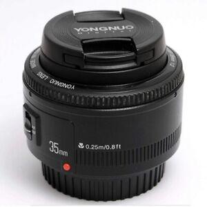 YONGNUO Digital YN35mm F2 Lens Wide Angle Prime Lens Cannon Camera