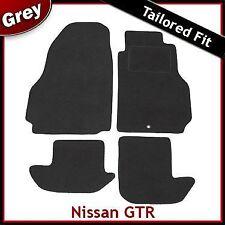 Adatto per NISSAN GTR montato su misura moquette tappetini GRIGIO (2009 2010 2011 2012)