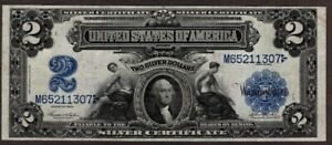 1899 $2 Silver Certificate,Fr 256, High-Grade/Possibly Unc., NICE!!