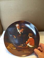 Norman Rockwell Limited Edition The Tycoon Collector Plate