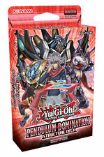 Pendulum Domination Structure Deck - Yu-Gi-Oh New Sealed English Version