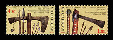Moldova 2009 Ancient Weapons 2 MNH Stamps