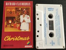 Christmas ~ RICHARD CLAYDERMAN Cassette Tape