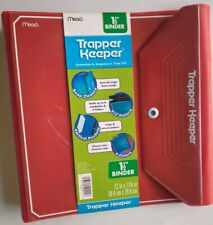 MEAD Red Trapper Keeper 1.5 Inch Binder 2013