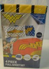 New Wonder Women Microfiber Full Set Sheets
