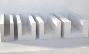 U-Schalen 17,5x25x50cm Paletteninhalt 25 Meter Ringanker, Schalung Steine