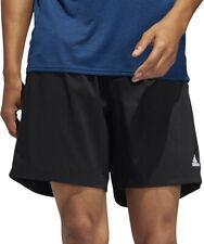 adidas Own The Run 5 Inch Mens Running Shorts Black Breathable Run Shorts