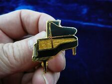 (M-319-A) brown STEINWAY Piano tac pin KEY BOARD pianos brooch JEWELRY keyboard