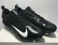 Nike Mens Size 11.5 Lunar Vapor Ultrafly Elite Baseball Cleats Metal Black