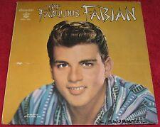 Fabian [LP] : The Fabulous Fabian [Chancellor, CHLX 5005] Includes Poster