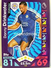Match Attax 2016/17 Premier League - #136 Danny Drinkwater - Leicester City