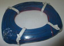 (0,279 €/ M) Twin Braid Wire Red/Blue 50m Neu