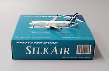 Silk Air B737-8MAX Reg: 9V-MBA JC Wings 1:400 Diecast Models XX4026 Defective