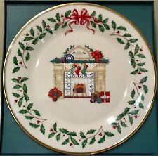 Lenox Annual Holiday Collector'S Plate 1993 Fireplace Excellent 3rd in series