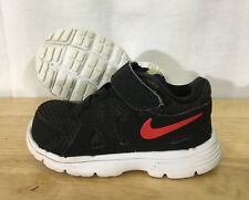Nike Revolution 2 Shoes Baby Toddler Size 4C Black Red