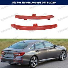 2pcs Right and Left Rear bumper Reflector For Honda Accord 2018-2020