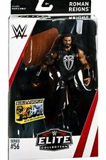 Mattel WWE Elite Roman Reigns Series 56 Wrestling Figure New with table chair