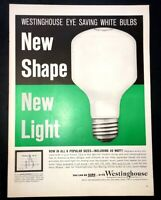 Life Magazine Ad WESTINGHOUSE Bulbs 1960 Ad