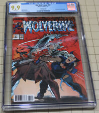 OLD MAN LOGAN #31 COVER HOMAGE WOLVERINE #2 LENTICULAR COVER CGC 9.9!!