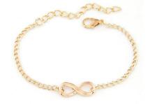 bracelet infini love amour femme doré