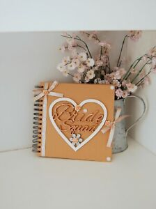 BRIDE SQUAD Photo Album/ Gift Bride to Be Hand Decorated Hen do Memory Book