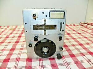 "Vintage ARC 5 Transmitter BC-457-A 4-5.3 mc  w/4600 kc Crystal  ""Untested"""