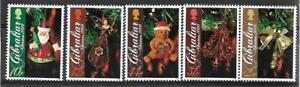 2009   GIBRALTAR  -  SG. 1342 / 1346  -  CHRISTMAS   -  MNH