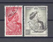 GOLD COAST 1948 RSW SG 147/148 USED Cat £50.70
