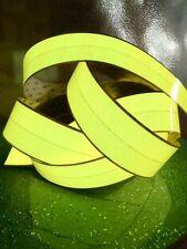 "EL Panel EL Sheet EL Tape 3"" X 12"" Yellow & 12 Volt Inverter in - Mfg in USA!!"