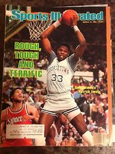 March 19 1984 Patrick Ewing Georgetown College Basketball Sports Illustrated HOF